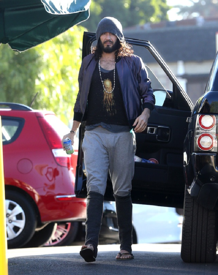 Russell Brand look hobo