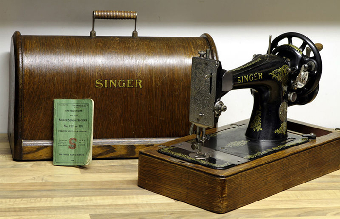 Comment faire un ourlet invisible bonnegueule - Vieille machine a coudre singer ...