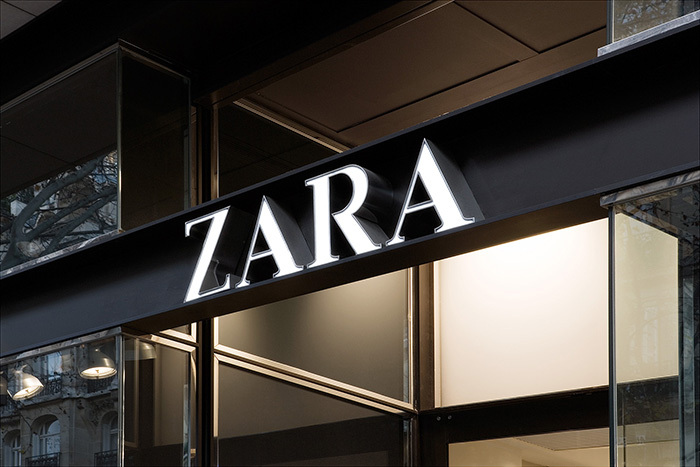 Zara magasin