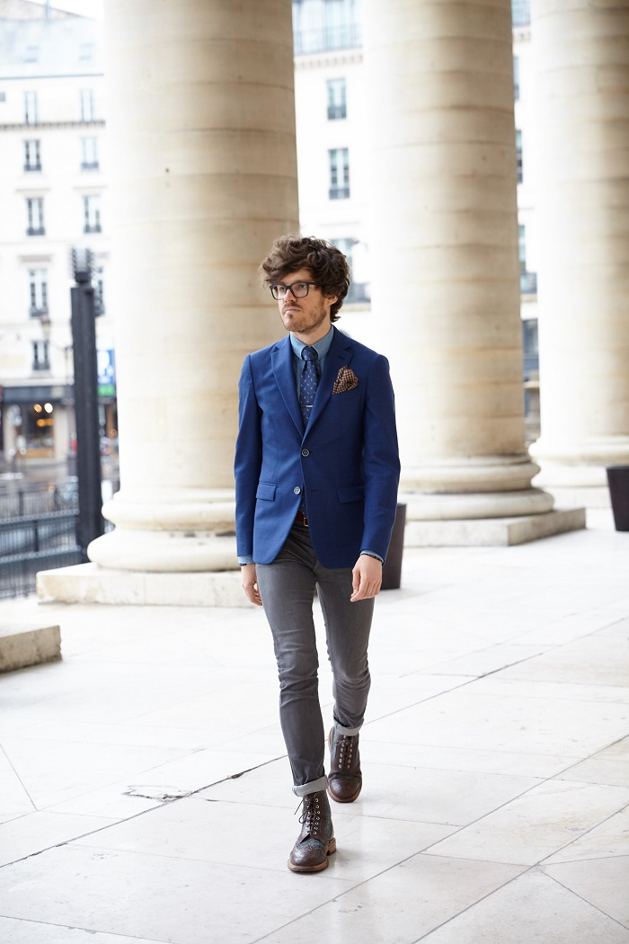 Florian streetstyle chemise chambray