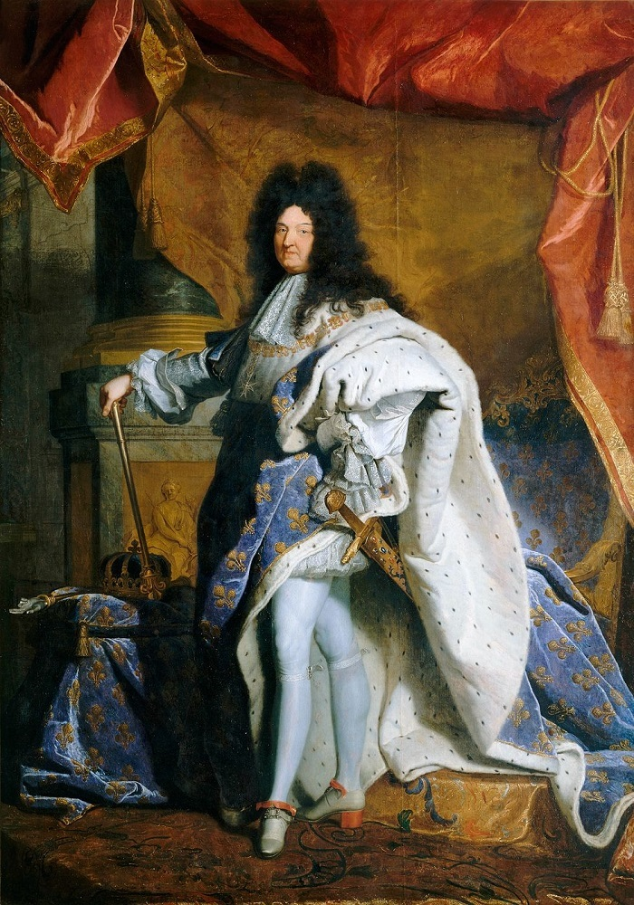 Manteau Louis XIV