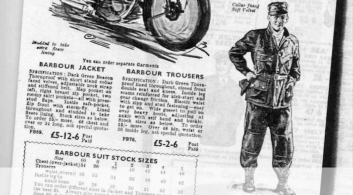 1934 catalogue barbour motorcycle