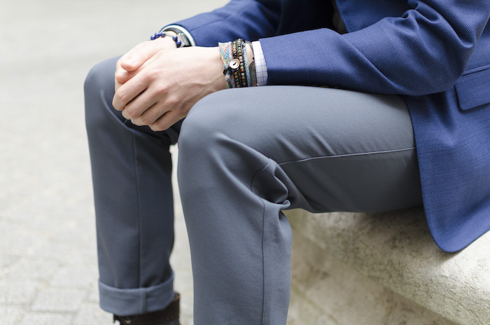 pantalon technique et blazer