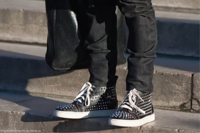 streestyle sneakers louboutin
