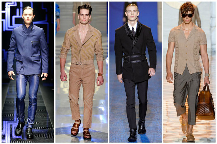 Style versace homme
