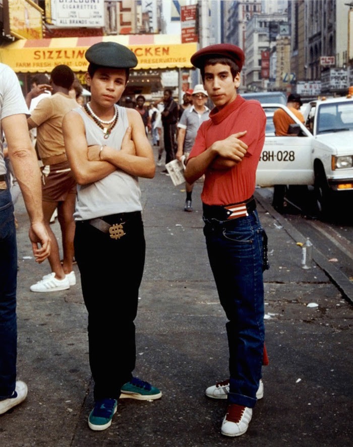 Streetstyle homme hip hop 80's