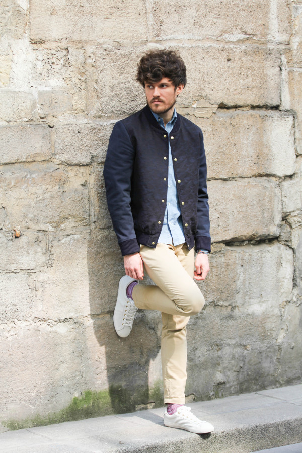 florian look casual stylé dnm pieces posé