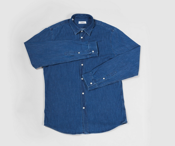 chemise denim maison standards