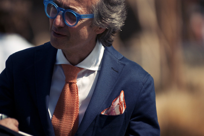inspiration cravate orange homme
