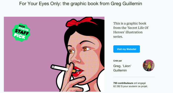 Livre d'illustration Greg Guillemin