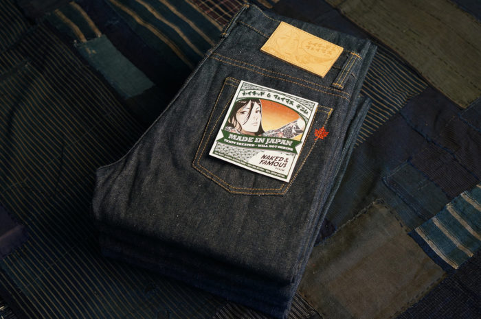 Jean selvedge Made in Japan Naked&Famous