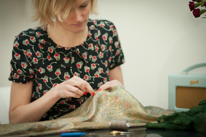 remaillage artisanal couture