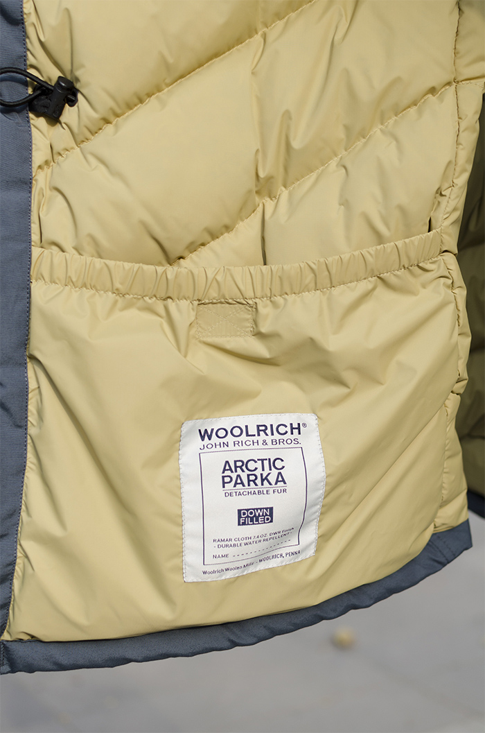 poche parka arctic Woolrich homme