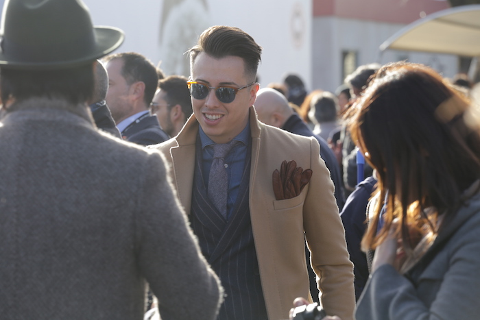 camel coat pitti