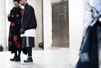 street style homme fashion week paris