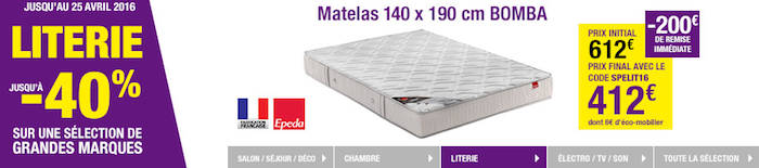 comment choisir son matelas avis sur tediber bonnegueule. Black Bedroom Furniture Sets. Home Design Ideas