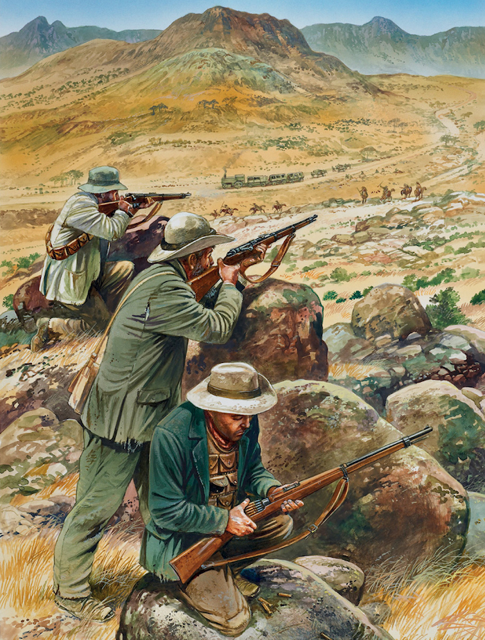 boers camouflage
