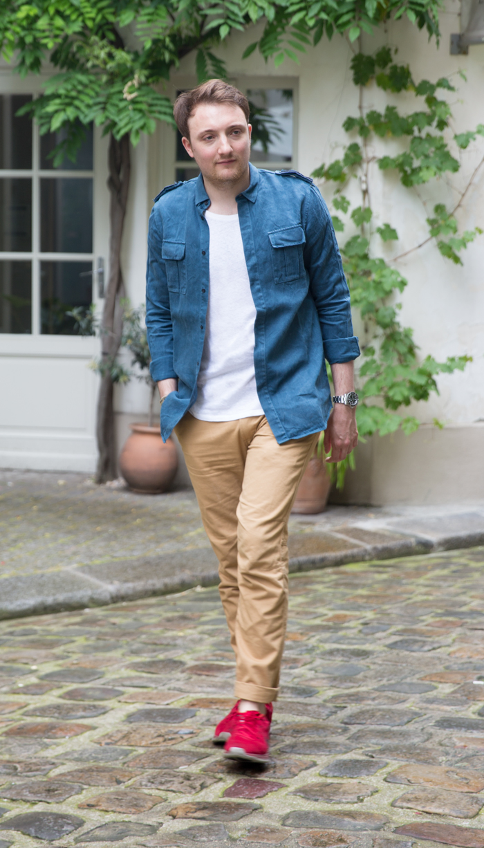 look inspiration militaire homme