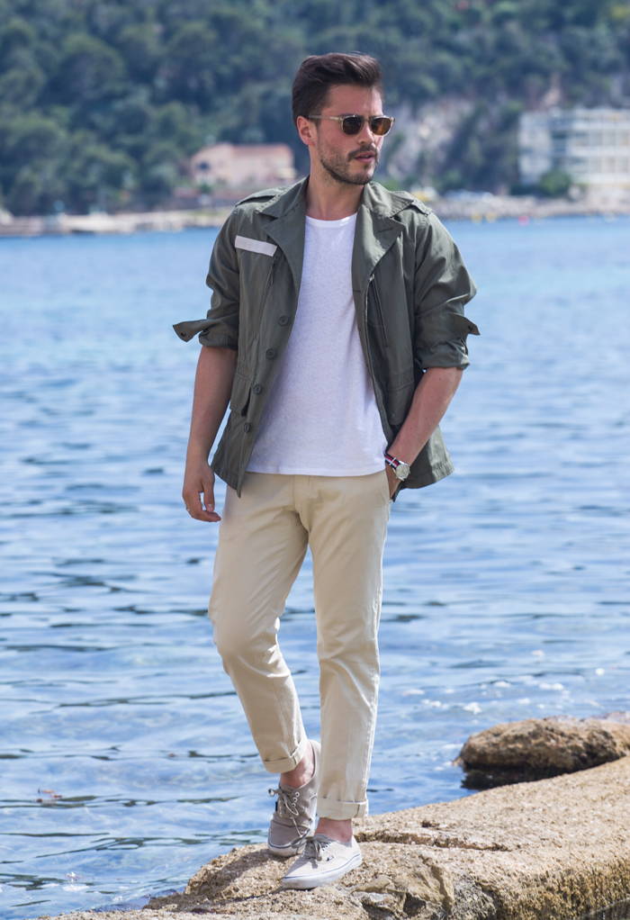 look inspiration militaire ete homme