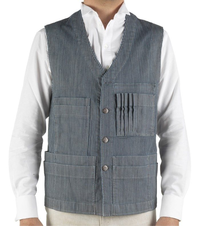 gilet multipoches workwear homme