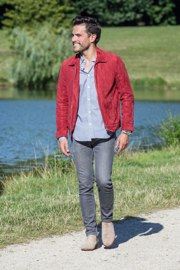 veste-rouge-homme-style