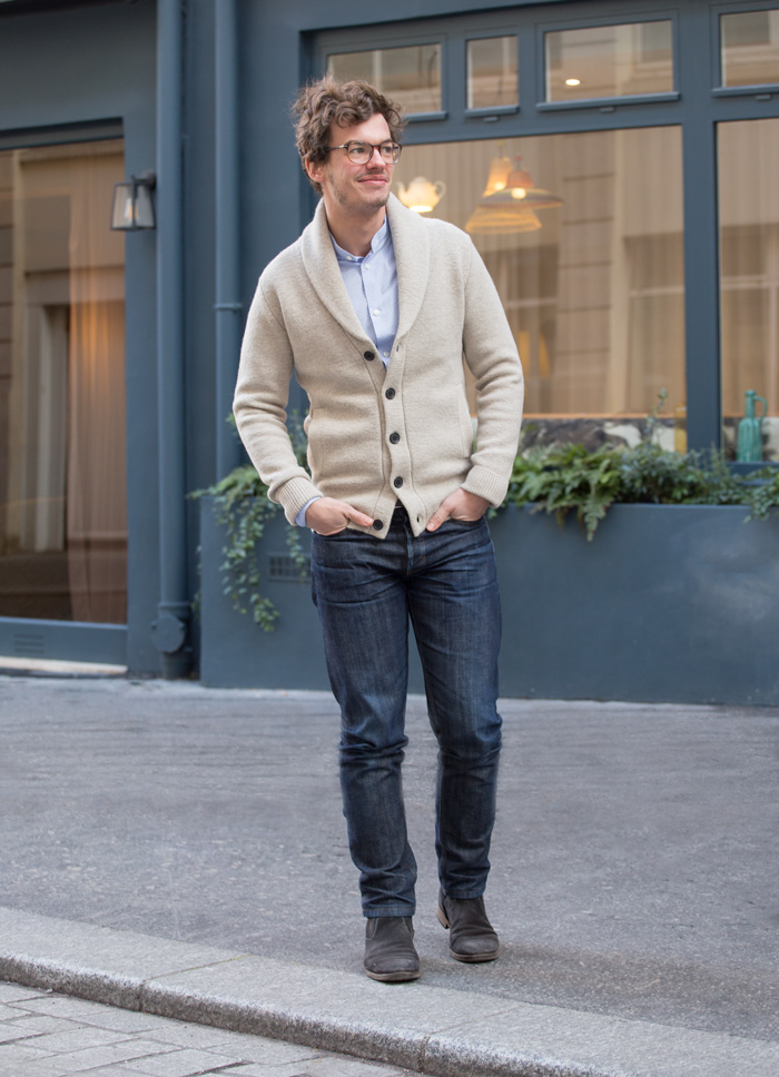 street style casual chic homme