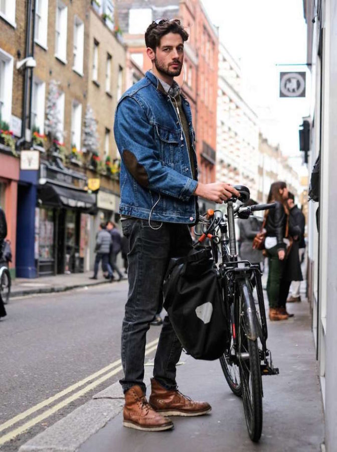 street style boots brogue