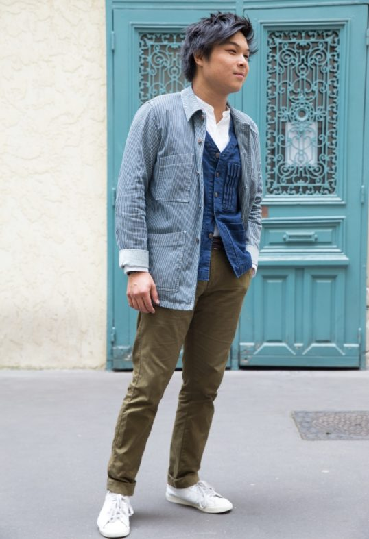 Le look workwear de Long