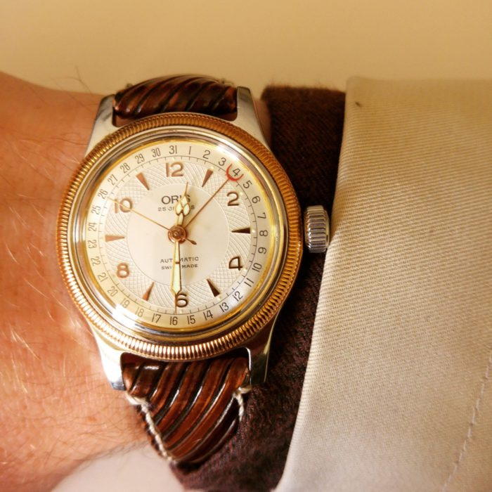 Montre Oris Big Crown Pointer Date in the sun