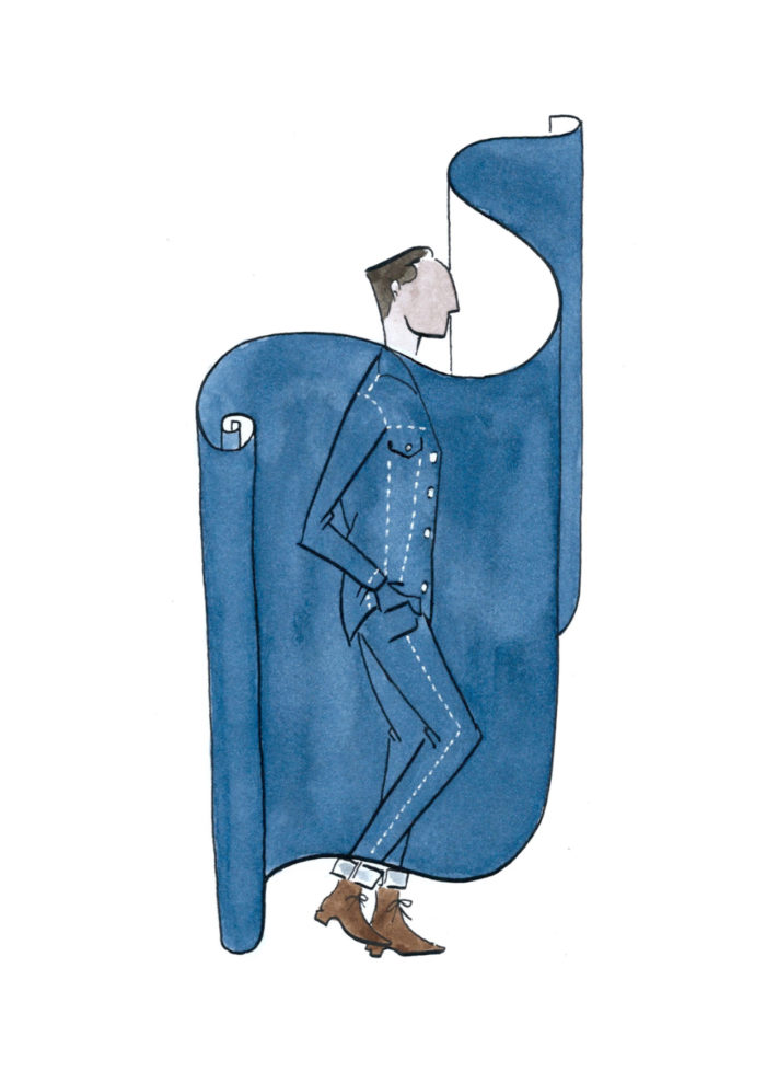 Alexis Bruchon illustration bonnegueule denim