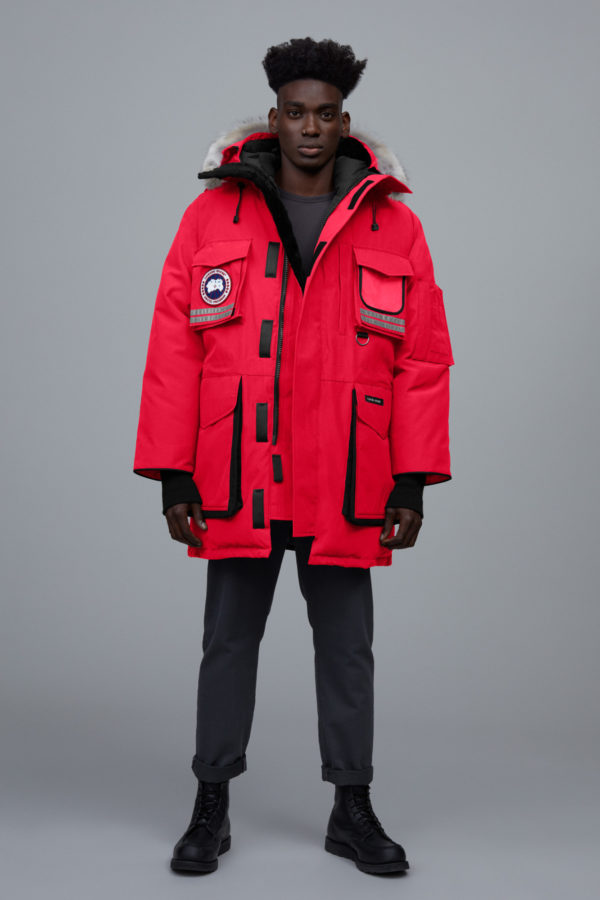 Parka Canada Goose Snow Mantra rouge