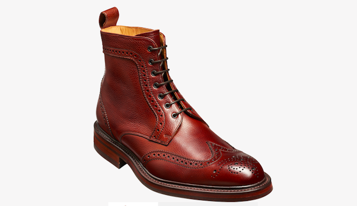 boots perforations cuir