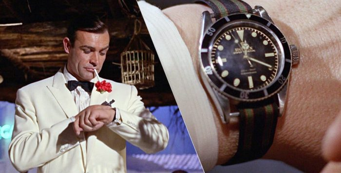 Montre Rolex James Bond