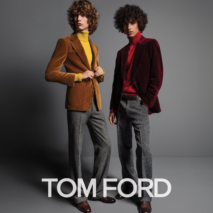 campagne tom ford col roulé
