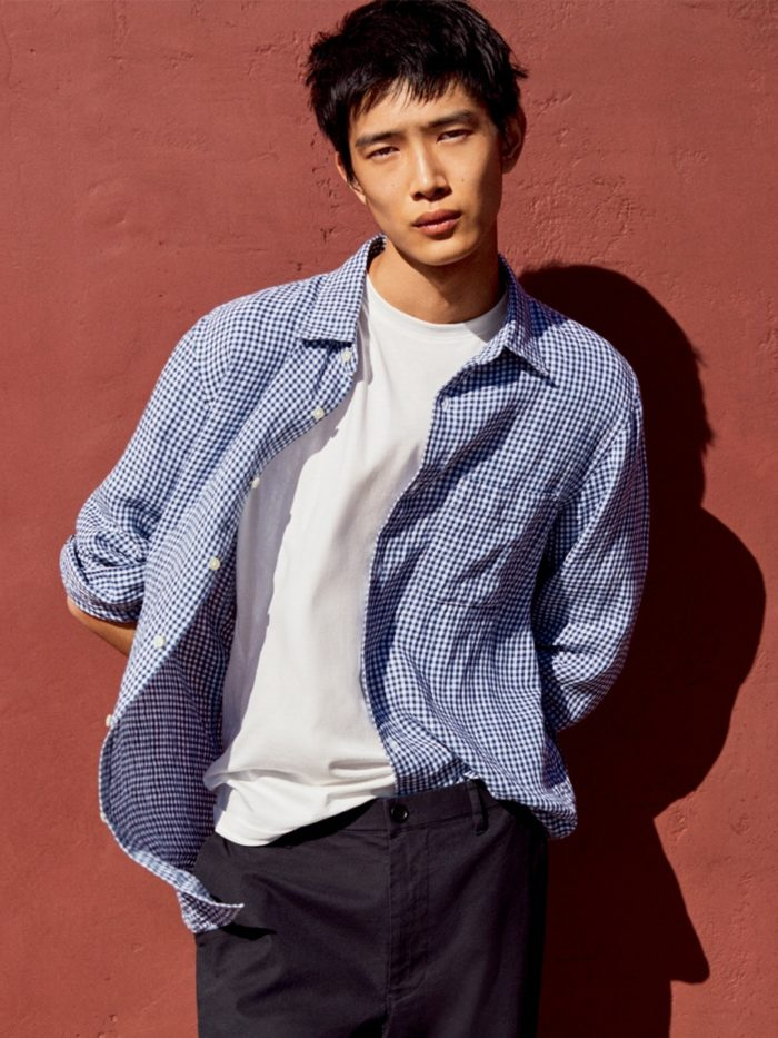 look homme uniqlo