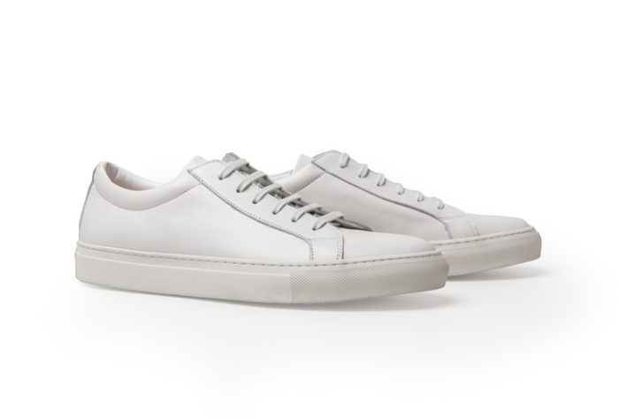 sneakers minimalistes blanches