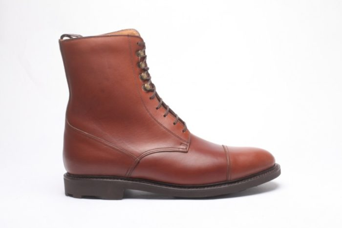 chaussures bottines marron