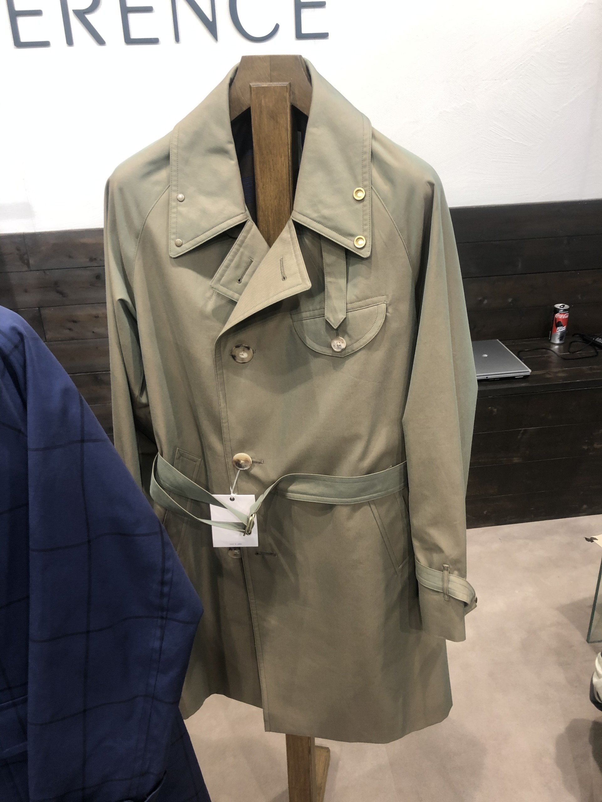 trenchcoat cohérence