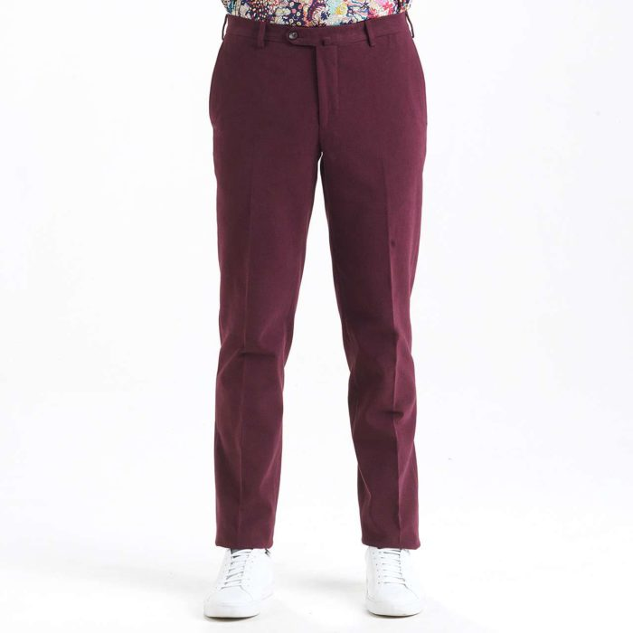pantalon bordeaux hollington