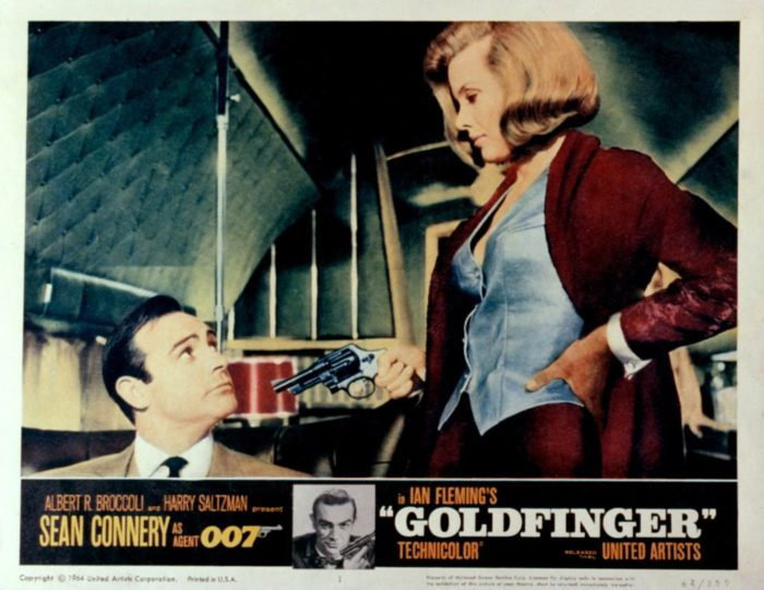 Affiche Goldfinger James Bond