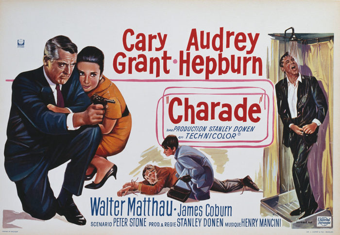 Affiche du film Charade Cary Grant