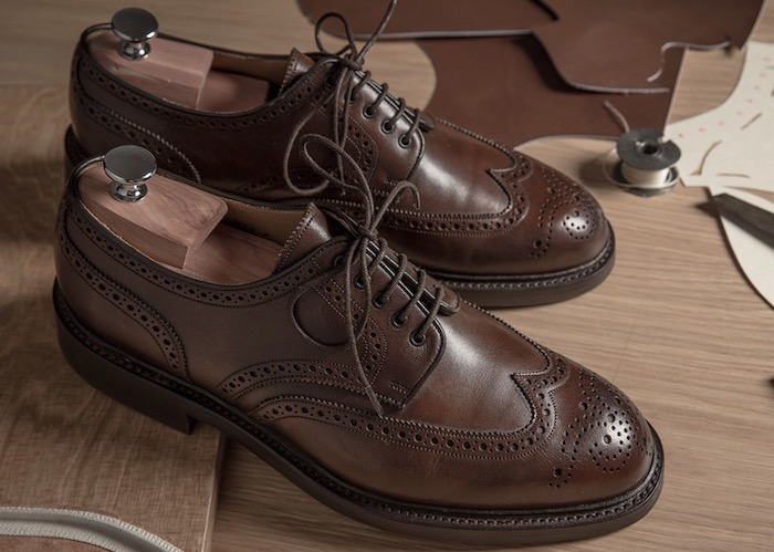 brogue marron bonnegueule