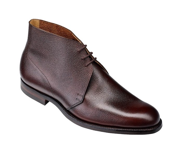 chukka boot marron