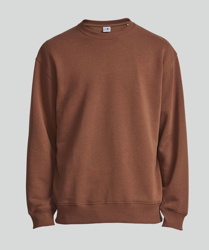 sweatshirt marron