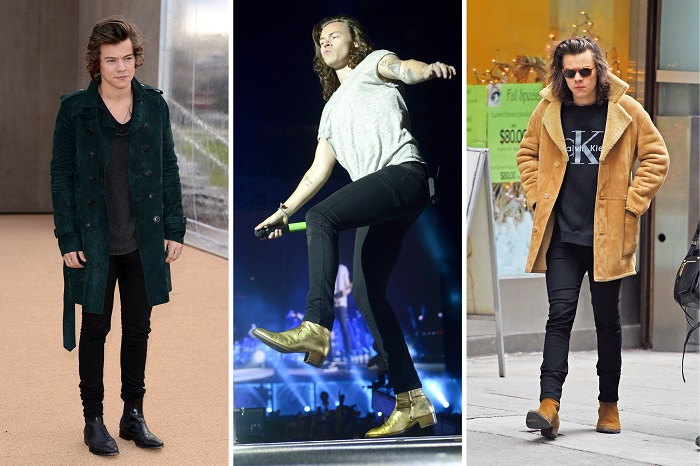 harry styles boots