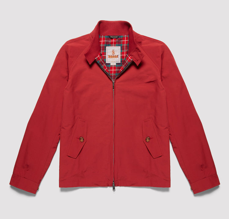 harrington baracuta rouge