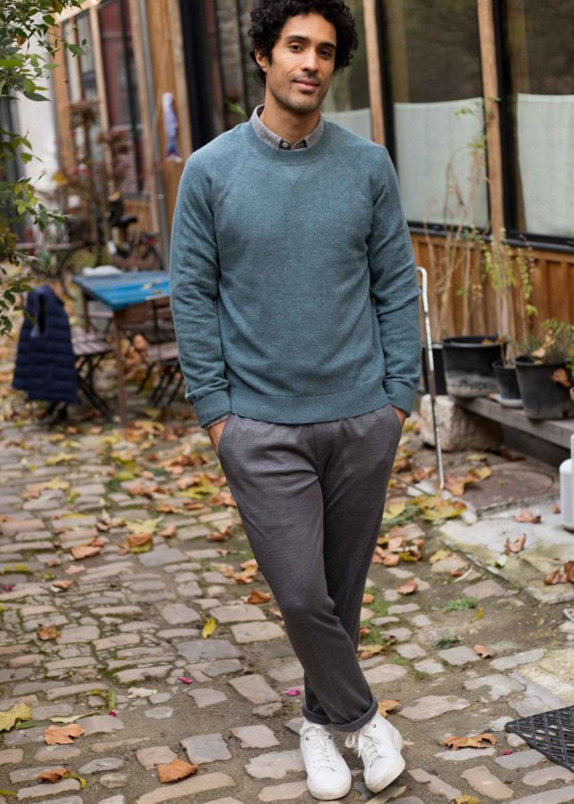 look homme pull