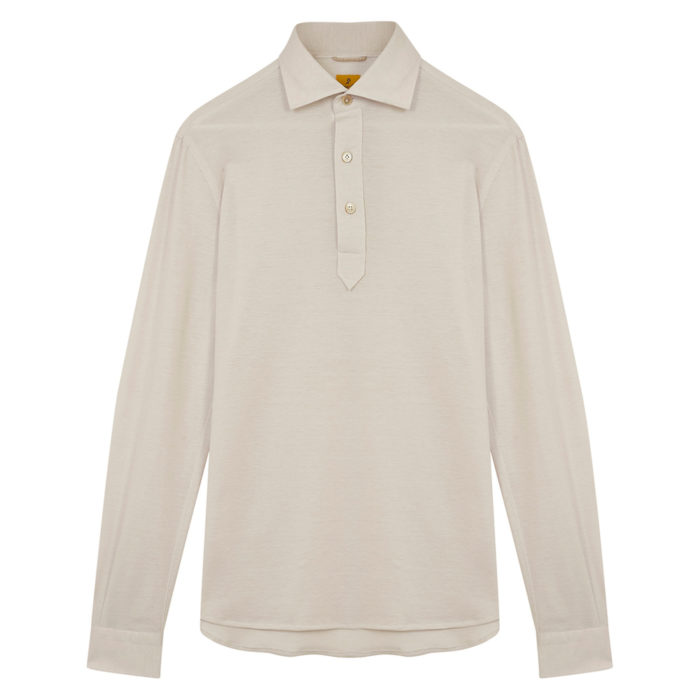 polo shirt ivoire g inglese