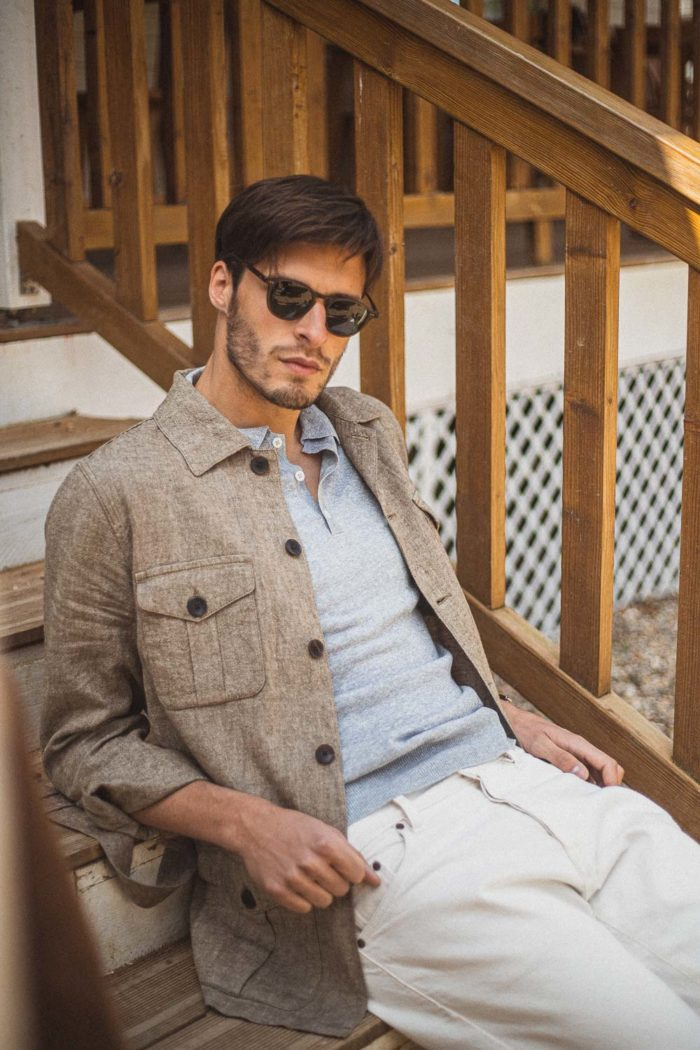 look homme lunettes polo