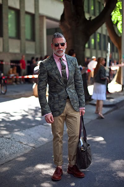 nick wooster camouflage